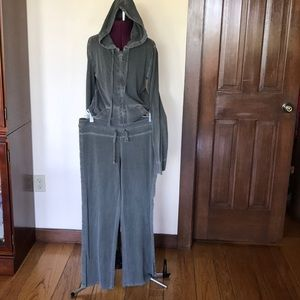 J. Crew Green Track Jogging Lounge Suit